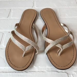 ALDO gemstone sandals 8